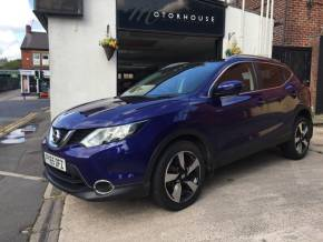 Nissan Qashqai 1.2 DiG-T N-Tec+ 5dr Hatchback Petrol Blue at Motorhouse Cheshire Stockport