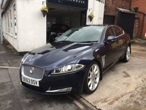 Jaguar XF 2.2d [200] Premium Luxury 4dr Auto Saloon Diesel Blue at Motorhouse Cheshire Stockport