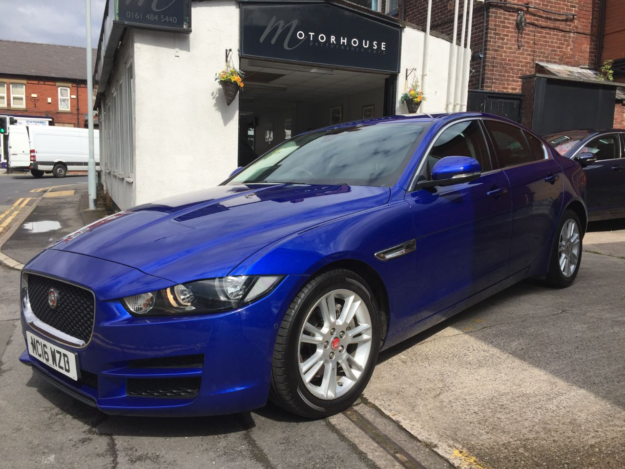 Jaguar XE 2.0d [180] Prestige 4dr Auto Saloon Diesel Blue at Motorhouse Cheshire Stockport