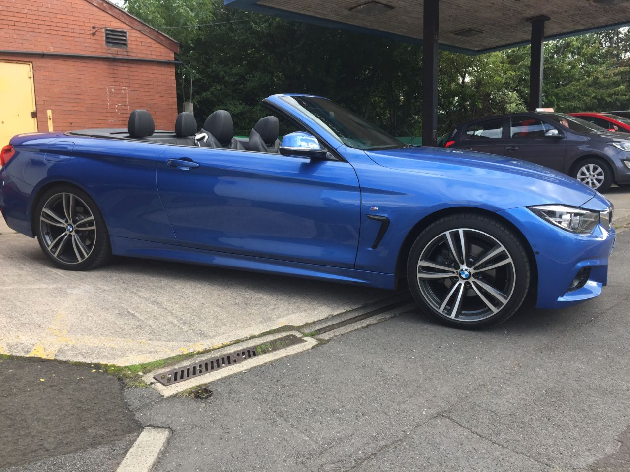 BMW 4 Series 2.0 420d [190] M Sport 2dr Auto [Professional Media] Convertible Diesel Blue at Motorhouse Cheshire Stockport