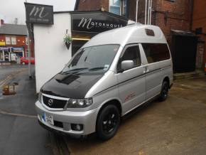Mazda Bongo 2.0 2 Berth Camper Crossover Petrol Silver at Motorhouse Cheshire Stockport