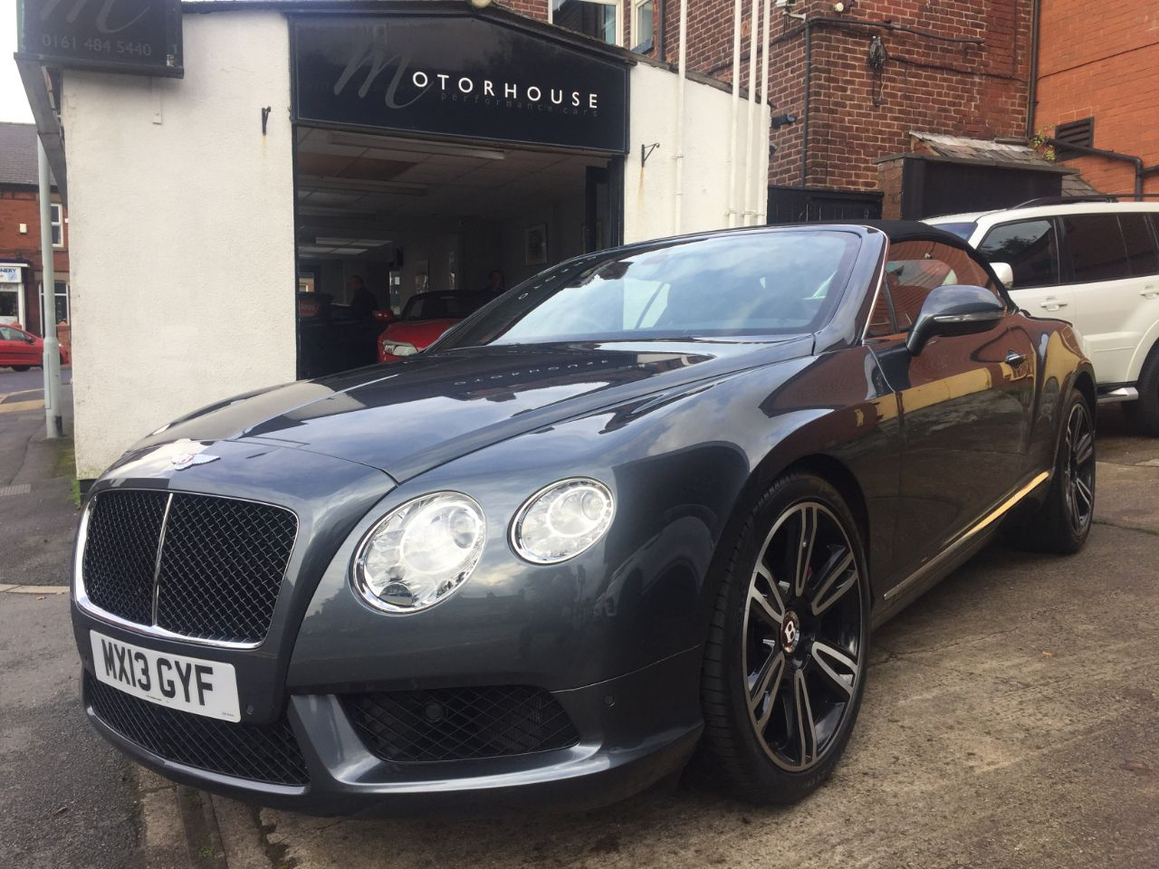 Bentley Continental GTC 4.0 V8 2dr Auto Convertible Petrol Storm Grey at Motorhouse Cheshire Stockport