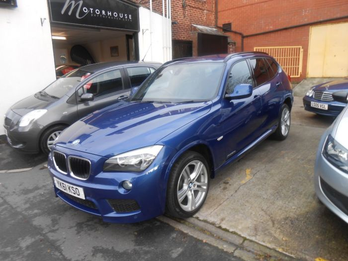 second hand bmw x1 xdrive 20d m sport 5dr step auto for. Black Bedroom Furniture Sets. Home Design Ideas