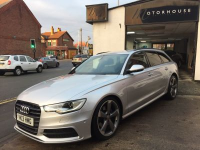 Audi A6 3.0 TDI Quattro Black Edition 5dr S Tronic Estate Diesel SilverAudi A6 3.0 TDI Quattro Black Edition 5dr S Tronic Estate Diesel Silver at Motorhouse Cheshire Stockport