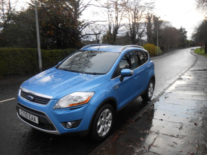 Ford Kuga 2.0 TDCi Zetec 5dr Estate Diesel Blue